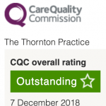 The Thornton Practice CQC Outstanding